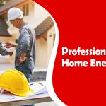 Professional home energy audit